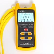 Utilizado en el Campo de Las Telecomunicaciones Barato JW3208A-70 ~ + $ number dbm De Mano De Fibra Óptica Medidor de Potencia