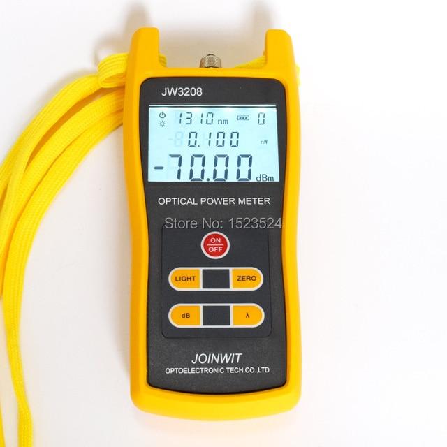 Used in Telecommunication Field Cheap JW3208A  70~+6dBm Handheld Fiber Optic Power Meter