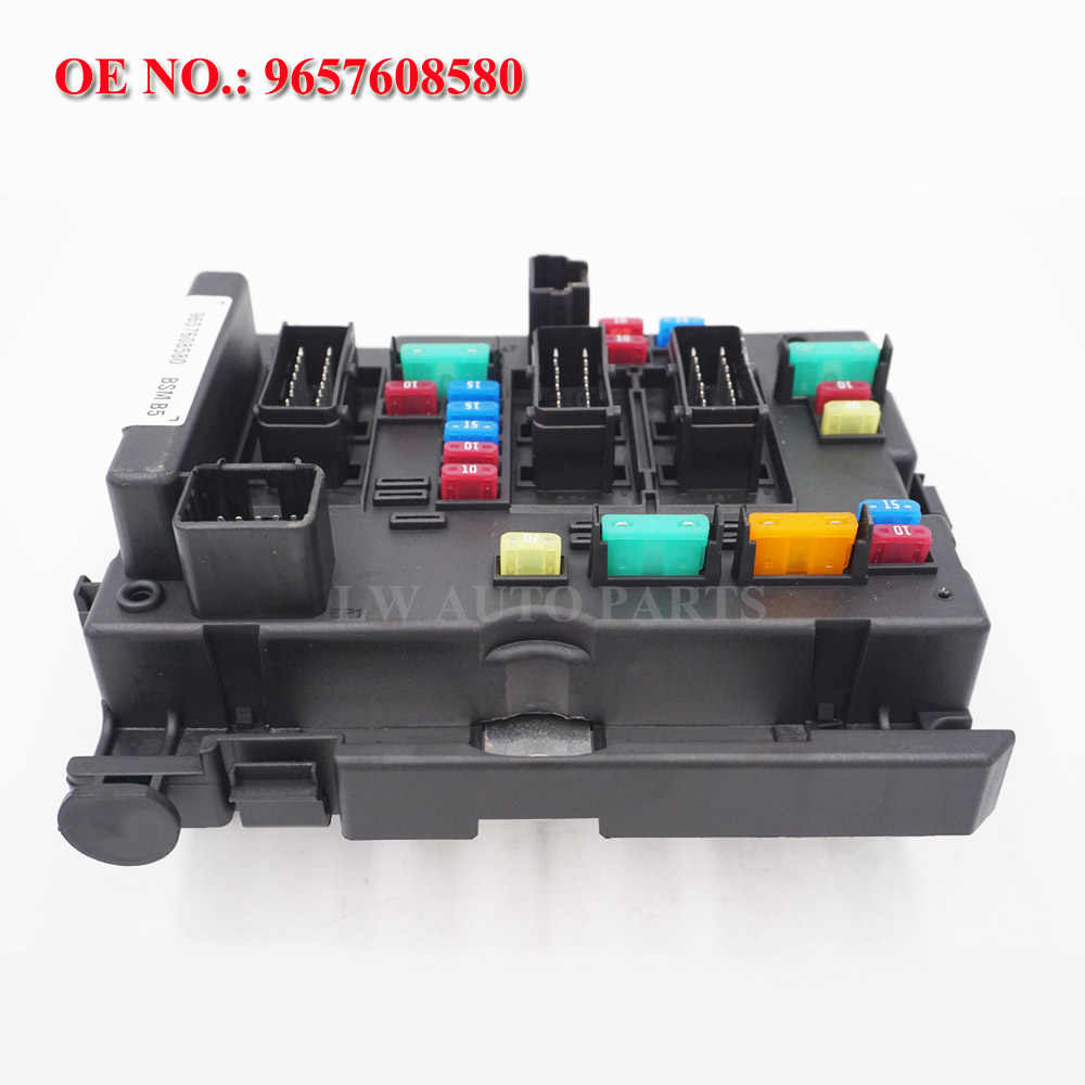 fuse box unit assembly under bonnet 9657608580 bsm b5 for lancia phedra fiat ulysse citroen c8 [ 1000 x 1000 Pixel ]