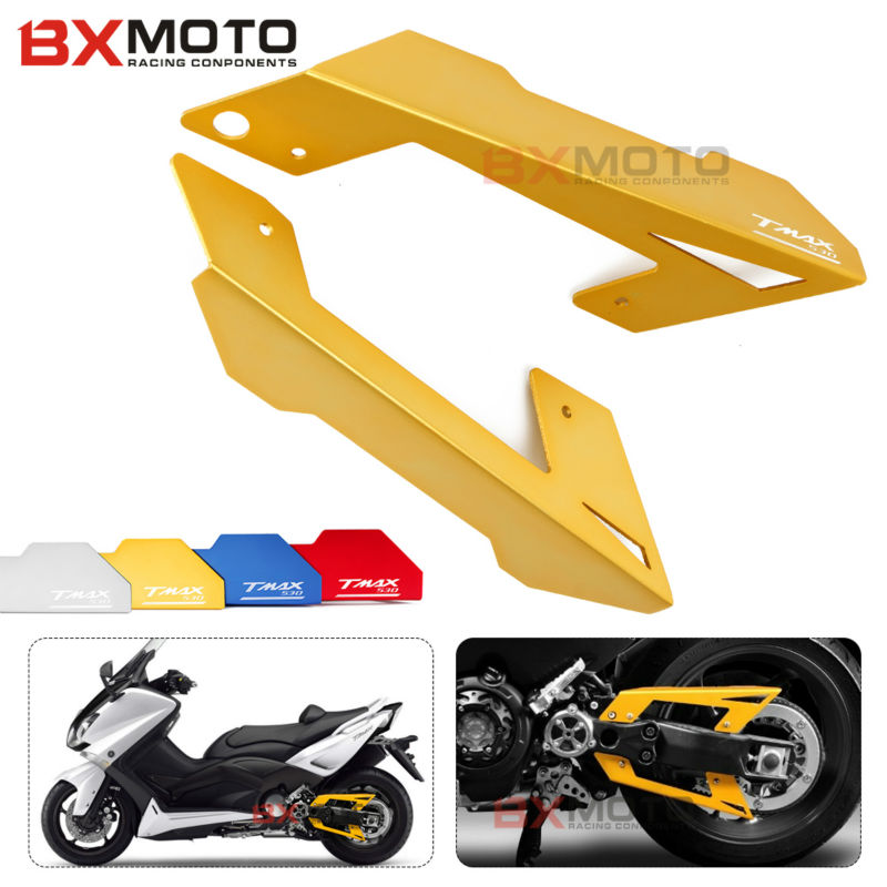 Motorcycle accessories Parts For Yamaha Tmax 530 t-max 530 tmax530 2012-2015 Chain Belt Guard Cover Protector Motorbike Spare motorcycle accessories new parts transmission belt pulley protective cover blue for yamaha t max 530 tmax530 t max530 2012 2015