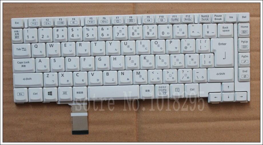 NEW JP laptop white keyboard for Panasonic CF B10 CF B11 HMB5301CPB1101A SN1312050680 Japan LAYOUT KEYBOARD