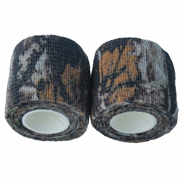 US $39 46 |24 Rolls Bionic Camouflage Stretch Tapes Cohesive Hunting  Camping Tactical Bandage Bike Modified Camo Tape Outdoor Essential-in  Braces &