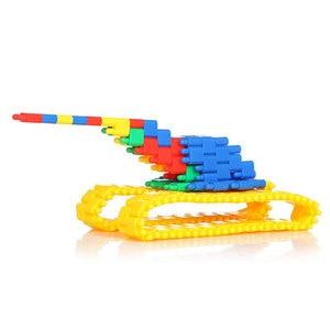 Image 4 - Assembling Toys To Develop Intelligence To Insert Blocks DIY Bullet Building Block Toy Educational Toys Bulk For Children Gift