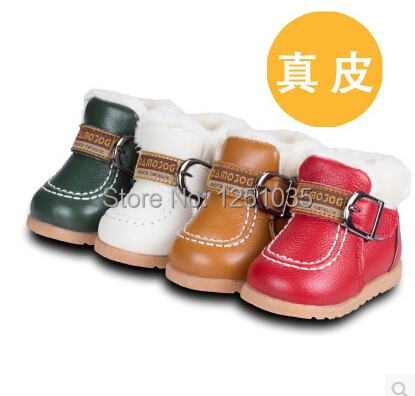 Toddler Shoes Baby Winter Children's Warm 0 And Male TPR 1-Year-Old Antiskid Soft-Bottom