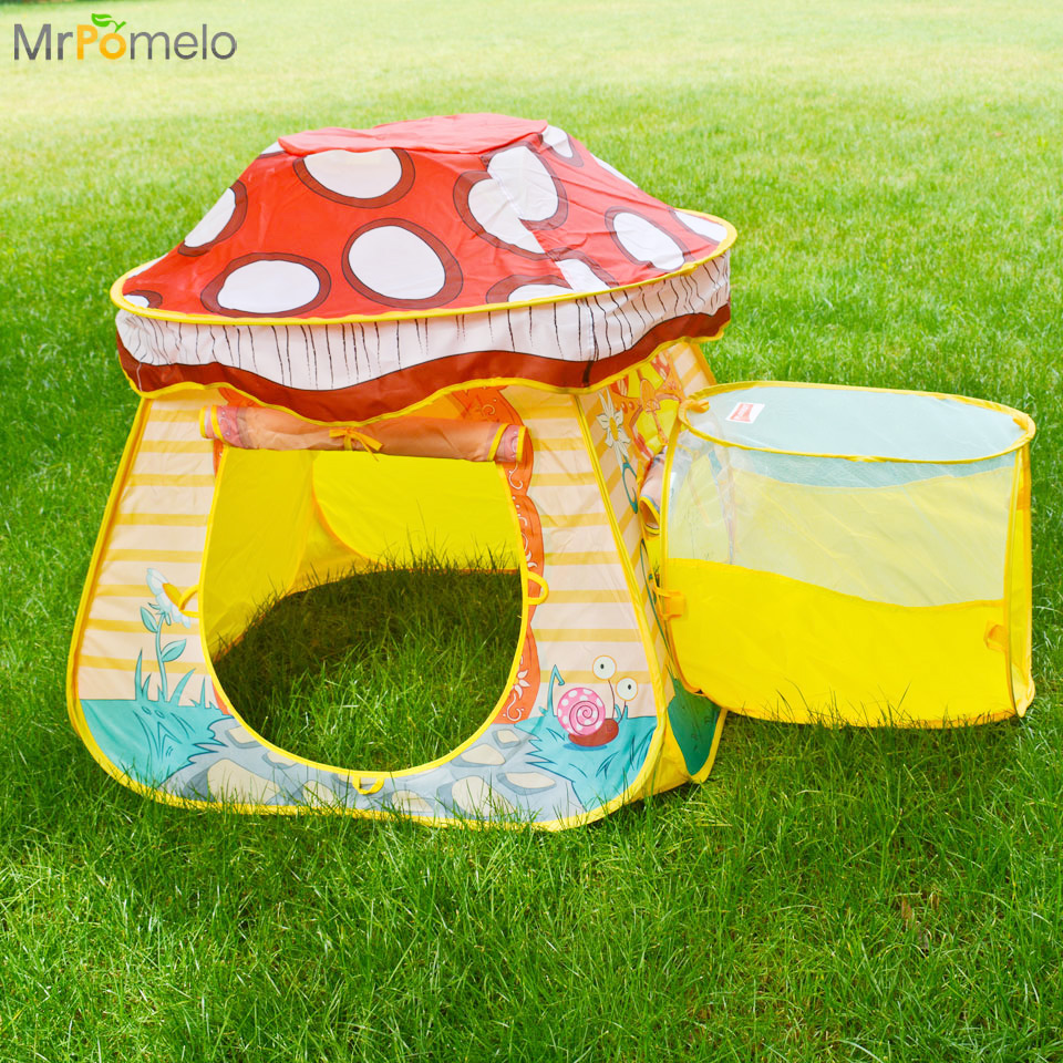 Outdoor Indoor Kids Toy Folding Play Tent Game Toy Children Activity Blue Pink Yellow Mushroom House Cabin Playing Toy Best Gift-in Toy Tents from Toys ... & Outdoor Indoor Kids Toy Folding Play Tent Game Toy Children ...