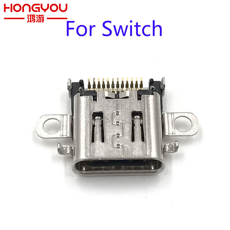 5Pcs Original charging port For Nintendo Switch NS Console Charging Port Power Connector Type-C Charger Socket For NS Switch 5pcs high quality original charging port for samsung s3 i9300 i9308 i939 micro 11pin usb connector free shipping