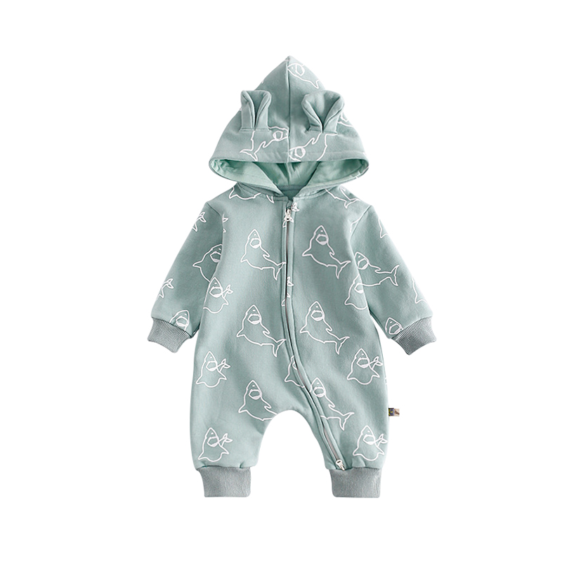 aa5ba22d3 Peninsula Baby  Baby Rompers Winter Warm Baby Boy Girl Clothes Long ...