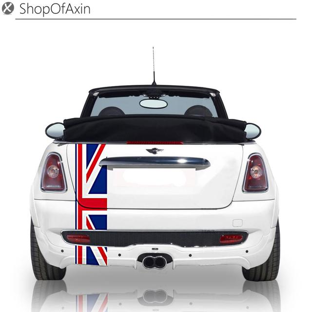 Car trunk luggage decoration sticker union uk flag stickers for mini cooper clubman countryman hardtop r55