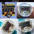 4 Bits Digital Tubo kit DIY Kit Microcontrolador MCU Diy Relógio LED Relógio Digital Relógio Eletrônico Display LED Vermelho