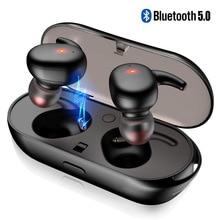 Wireless Earphone TWS Bluetooth 5.0 Headphone Bass Headset for Huawei P20 P30 Pr