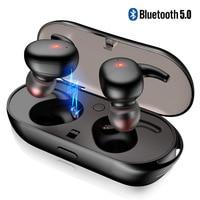 Wireless Earphone TWS Bluetooth 5.0 Headphone Bass Headset for Huawei P20 P30 Pro Mate Sport Earphones With Charger Box Micphone
