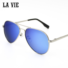 LA VIE Sunglasses for Kids children Classic Retro Design Pilot Style Alloy Frame Glasses  gafas de sol UV400 LV3025L