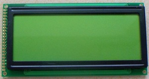 MSG19264D Graphic Negative LCD Module Display LCM GMS 192*64 build-in KS0108 Yellow Green compatible with msg19264d