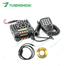 Original QYT KT 8900 VHF 136 174MHZ UHF 400 480MHZ Mobile Car CB Radio Transceiver with Programming Cable and Software