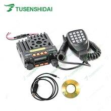 الأصلي QYT KT 8900 VHF 136 174MHZ UHF 400 480MHZ المحمول سيارة CB جهاز الإرسال والاستقبال اللاسلكي مع كابل برجمة والبرمجيات