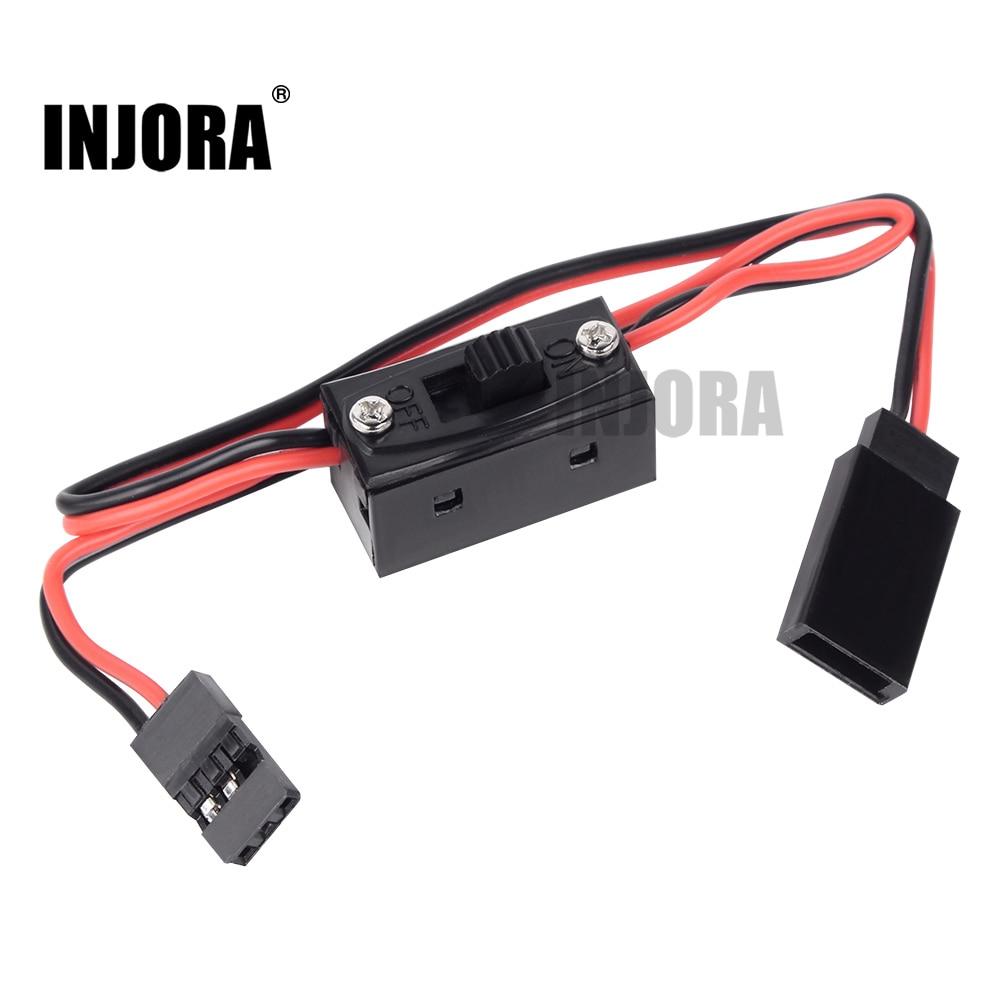 INJORA LED Light Control Power Switch For Traxxas TRX4 Axial SCX10 90046 Tamiya RC Model Car