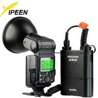 Godox New WITSTRO AD360II TTL 360W/S Wireless Power Control Outdoor Flash Light PB960 Power Battery Pack Kit Black for Nikon