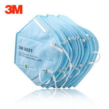 3M 9031 9032 Face Mask Dust Respirator Breathable Anti-PM2.5 Anti-fog Haze Industrial Workshop Dust Mask Anti Particulate Matter