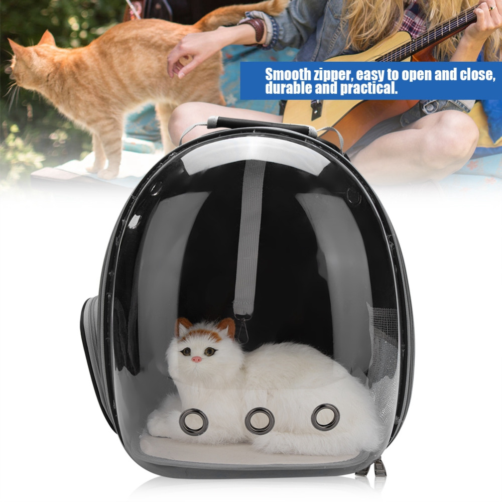 Hot Sale Portable Pet Cat Carrier Bag Transparent Capsule Breathable Carry Bag Travel Cat Dog Backpack Kitten Carrying Cages