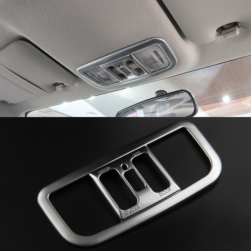 2016 ABS Car Styling Car Front Rear Reading Lights Frame Sequins For Honda  City Car Accessories Decoration Sequins In Car Stickers From Automobiles ...