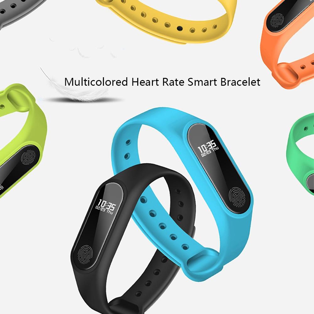 1047949eb44a Xiaomi mi banda 3 rastreador de Fitness deporte impermeable banda  inteligente pulsera de corazón de pulsera