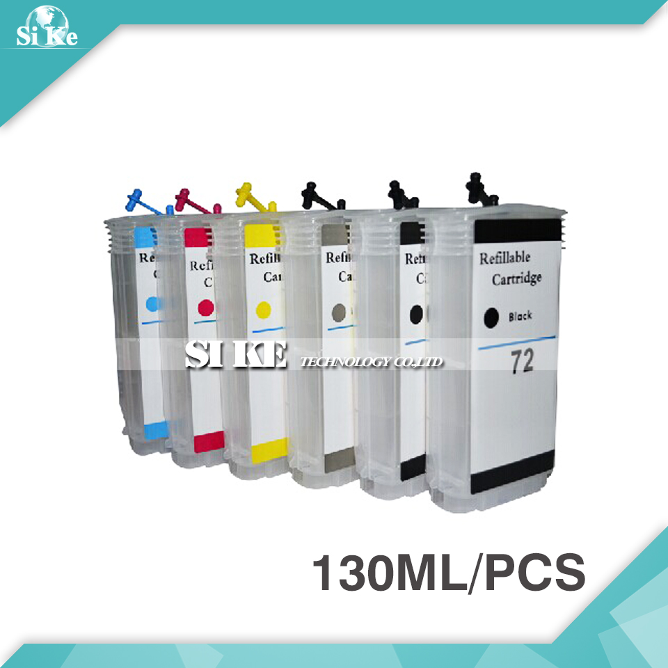 (RCH-72) Refill Ink inkjet Cartridge for HP72 HP 72 T610 T620 T790 T1100 T1120 T1200 T770 T2300 C9403A C9397A with ARC