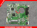 734821-501 734821-001 para hp pavolion 15-n 15z-n 15t-15z-n100 15z-n200 laptop motherboard mainboard da0u93mb6d0 a6-5200 8670 m 1g