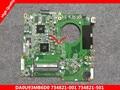 734821-501 734821-001 para hp pavolion 15-n 15z-n 15z-n100 15z-n200 da0u93mb6d0 placa madre del ordenador portátil mainboard a6-5200 8670 m 1g