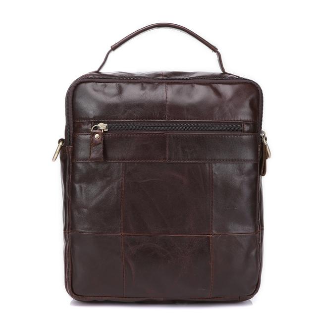 MVA Genuine Leather Bag top-handle Men Bags male Shoulder Crossbody Bags Messenger Small Flap Casual Handbags men Leather Bag