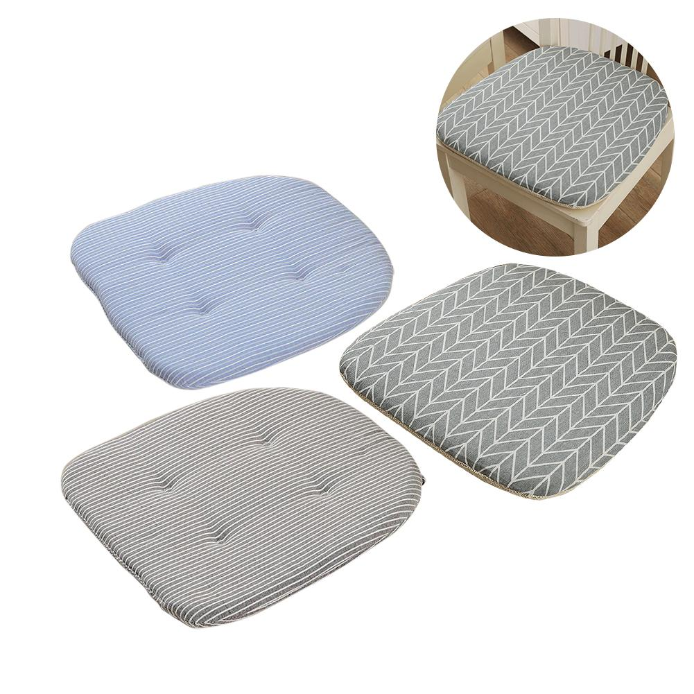 Simple Fresh Lattice Cushions Restaurant Dining Chair ...