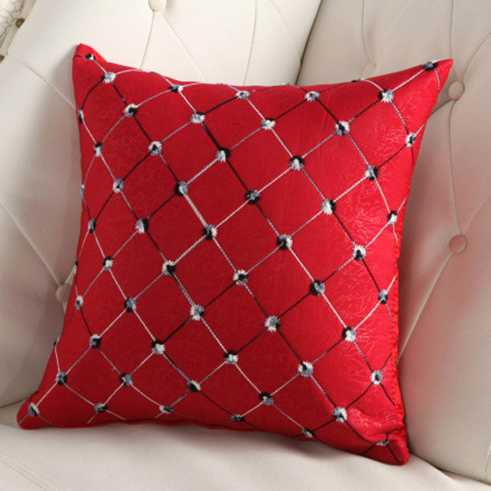 Square Throw Pillow Cases : Aliexpress.com : Buy Square Lattice Throw Pillow Case Home Room Cover Square Pillow Case from ...