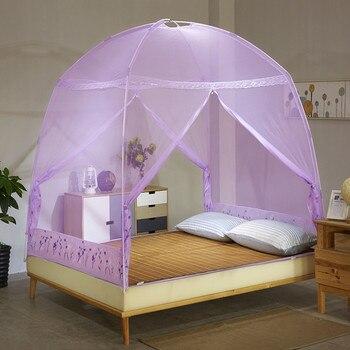 Mongolia Yurt Mosquito Net Bebe Verano Decoracion Canopy Para Cama - Camas-dobles-para-adultos