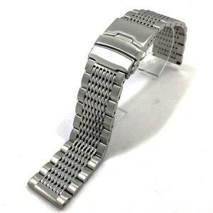 Image 2 - Vintage Konsept Dalış saat kayışı 22mm Geniş Ayarlanabilir Uzunluk Erkekler Paslanmaz çelik bileklik san martin izle vb