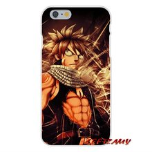Fairy Tail Slim Silicone phone Case For iPhone Models