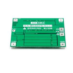 Image 5 - 4S 40A Li ion Lithium Battery 18650 Charger PCB BMS Protection Board with Balance For Drill Motor 14.8V 16.8V Lipo Cell Module