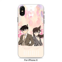 Detective Conan Transparent iPhone Case
