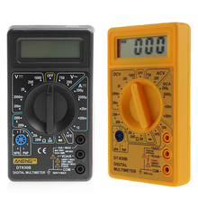 Digital Multimeter LCD Display Electric Voltmeter Ammeter Ohm Tester AC/DC Testers Meter Digital Multimeters Overload Protection