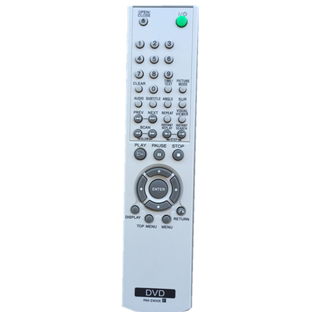 New remote control for sony DVD player controller RM-Z400E chunghop rm l7 multifunctional learning remote control silver