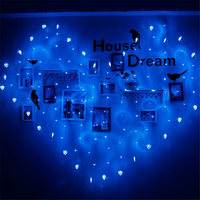 Light String Led Love Lantern With Curtains Ice Bar To Marry A White Decorative Lights Creative