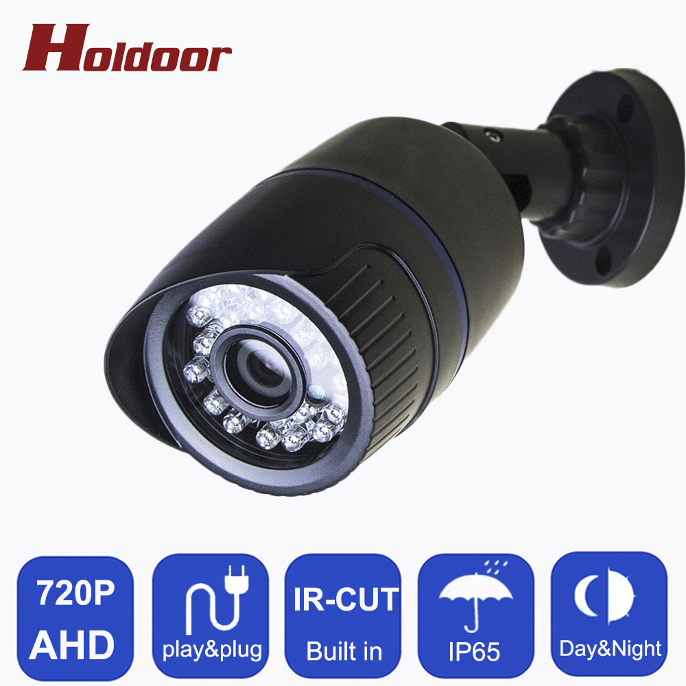 AHD 720P 1.0MP  Bullet IP65 waterproof camera night vision IR cut filter 1/4 ABS Housing CCTV serveillance home Free shipping advanced 128gb cctv camera 50 meters night vision waterproof housing