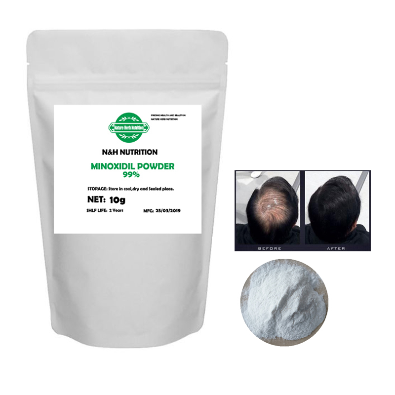 Best Quality 99% Purity Minoxidil Sulfate Powder Hair Growth, Hair Loss Treatment