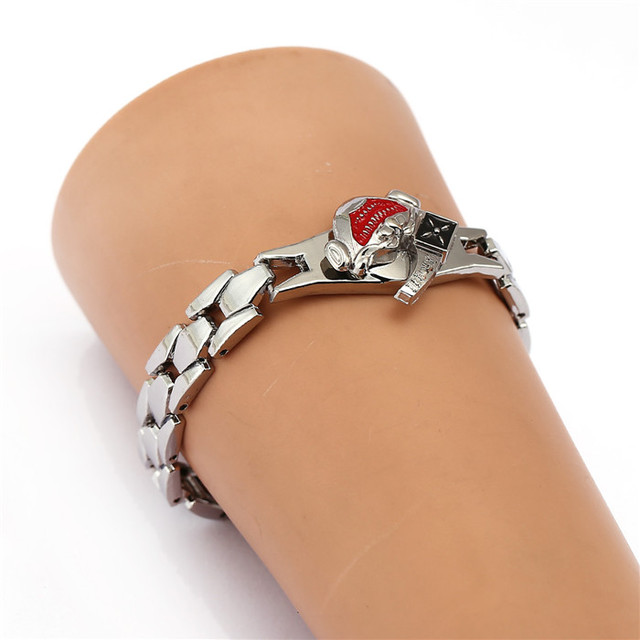 Tokyo Ghoul Charm Bracelet Metal Bangle