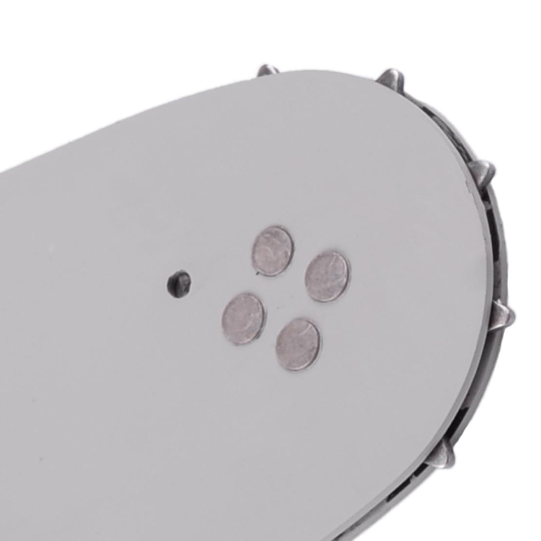 LETAOSK Guide Plate Bar Compatible avec les parties HUSQVARNA Chainsaw argent et blanc
