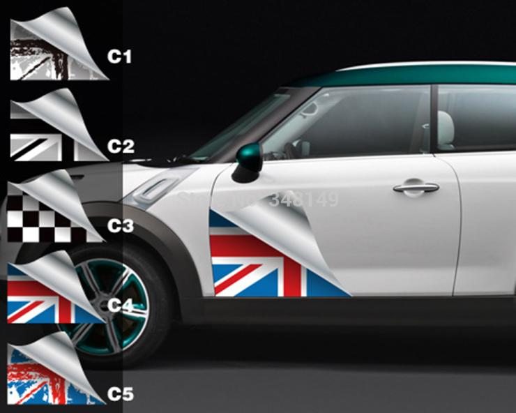 Aliauto Car-styling Side Door Sticker And Decals Accessories For Mini Cooper Countryman R50 R52 R53 R58 R56 aliauto car styling car side door sticker and decals accessories for mini cooper countryman r50 r52 r53 r58 r56