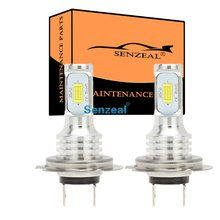 цена на SENZEAL 2pcs Super Bright CSP 3570 H7 Car Fog Light Bulbs 72W Car Daytime Running Light 1000Lm 12-24V Led Auto Bulb LED Lamp DRL