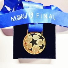 2019 Europe Football League Clubs' Cup Champion Gold Medal Final Madrid 19 Winner Award Soccer Fans Souvenir Gift Box Collection fed cup final
