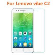 Vidro Temperado Protetor de tela Para Lenovo C2 k10a40 para Vibe C2 CAPAS Originais Ultra Slim à prova de Explosão Película Protetora