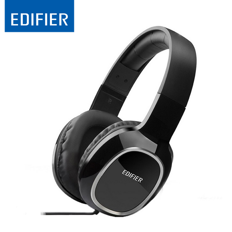 EDIFIER M815 Headset Earphone With MIC Bass Stereo Headset Hands-Free Wired Control Earpiece HiFi Earbuds For Smartphones edifier p180 earphone with mic bass stereo headset hands free wired control earpiece hifi earbuds for smartphones