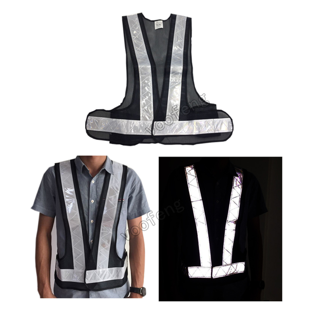 New style Running Outdoor Sports Safe Reflective Vest free shipping