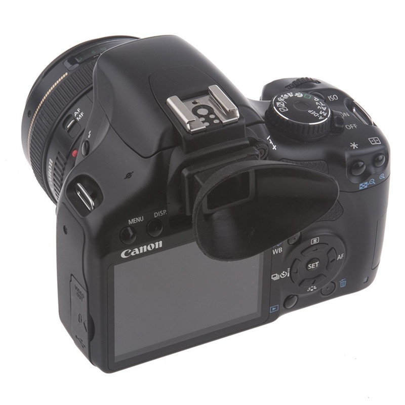 18mm Rubber Eyecup Viewfinder Camera Eyepiece Extender For Canon 550D 100D 1200D 1100D 1000D 450D 500D 600D 650D 700D